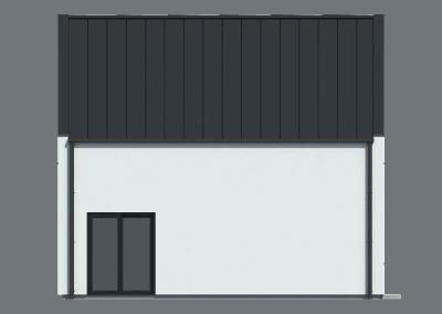 Dům se sedlovou střechou