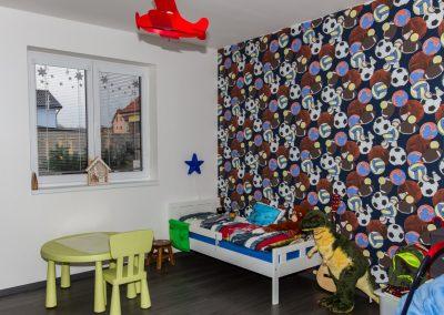 Dětský pokoj ve vzorovém domu