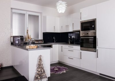 Kuchyňský kout v bungalovu 4kk