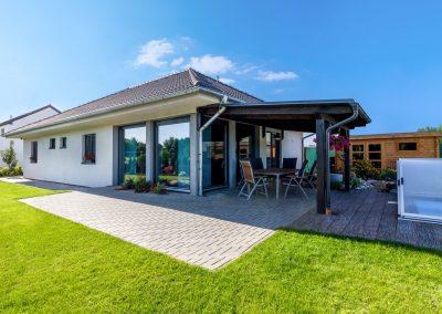 Moderní bungalov 4kk na klíč